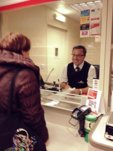 geoff at post office